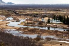 Þingvellir (Thingviller) National Park. La residenza estiva del Primo Ministro Islandese (foto: Anna Luciani)