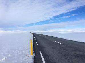 come stare tra le nuvole, il nord dell'Islanda (foto: Anna Luciani)