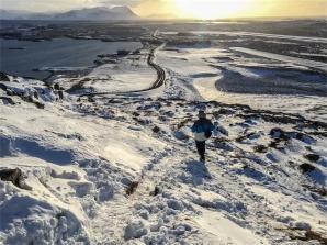 la vista dal monte Helgafell (foto: Anna Luciani)