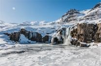 la cascata Kirkjufellsfoss (foto: Anna Luciani)