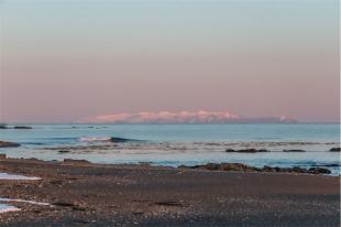 la spiaggia a Ytri Tunga (foto: Anna Luciani)