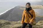 Io sul promontorio di Dyrhólaey (foto: Simone Chiesa)