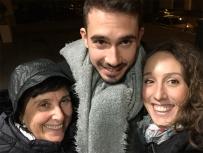 mamma, pietro ed io - Leon 2018 (foto: Anna Luciani)