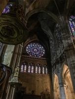 Cattedrale di León, interni. foto: Anna Luciani)