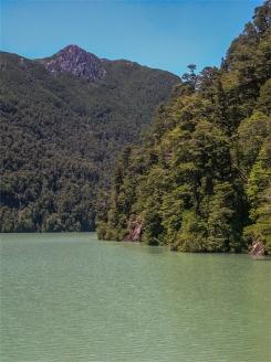 Distretto dei Laghi. Lago Frias, Confine Argentina/Cile. Gennaio 2006 (foto: Anna Luciani)