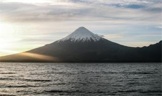 Vulcano Osorno, Cile. Gennaio 2006 (foto: Anna Luciani)