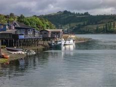 Costa Nera, Castro, Isola di Chiloé. Gennaio 2006 (foto: Anna Luciani)