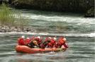 Rafting sul Rio Manso, Argentina/Cile. 1 gennaio 2006