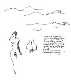 Oscar Niemeyer, disegni (fonte: Oscar Niemeyer e o modernismo de formas livres no Brasil, David Underwood, Cosac&Naify)