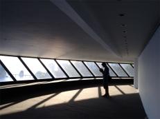 Museo d'arte contemporanea di Niterói, la galleria interna (foto: Anna Luciani)