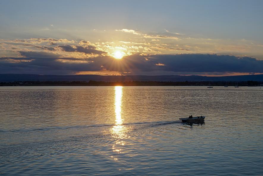 siracusa, tramonto, lo spettacolo comincia ora